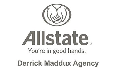 Derrfick Maddox Allstate - Sponsor Page Gray - 400x250