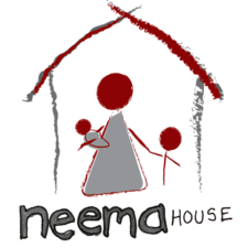Neema House logo with house for Beneficiary Page